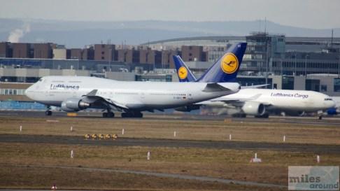 Lufthansa Boeing 747-400 - MSN 28287 - D-ABVT