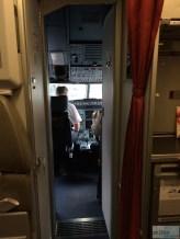 Blick ins Cockpit der A320-200