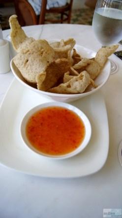 Fischchips mit süß-schafer Sauce