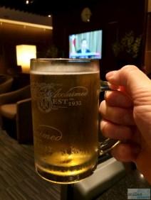 frisch gezapftes Tiger Bier