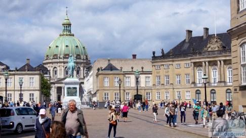 Schloss Amalienborg und Frederikskirche