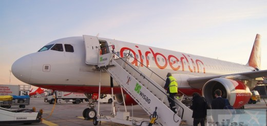 airberlin Airbus A320-200 (registration D-ABZK)