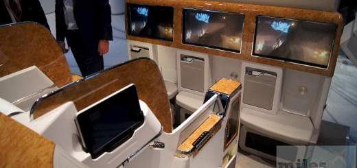 Emirates new business class - Mockup ITB