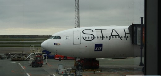 "SAS Airbus A340-300, OY-KBM, ""Astrid Viking"" Star Alliance Projekt, First Flight 10.01.2002"