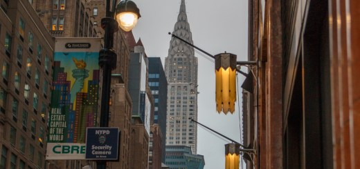 Das Chrysler Building aus der Lexington Ave.