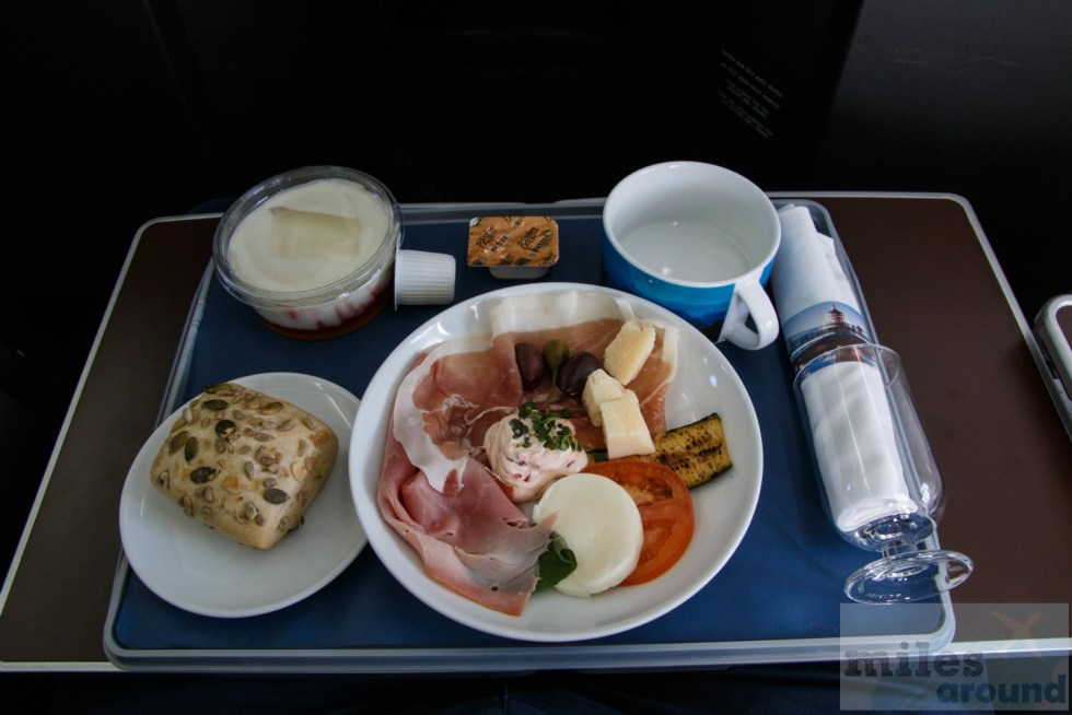 British Airways Club Europe Breakfast