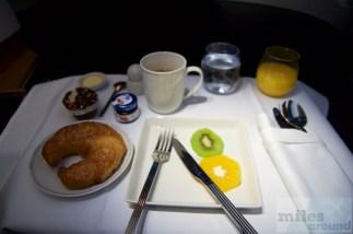 Croissant und Muffin