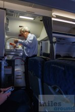 American Airlines MD-80 Cabin