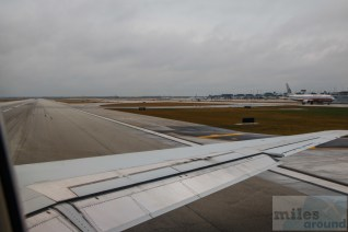 American Airlines MD-82 Take off