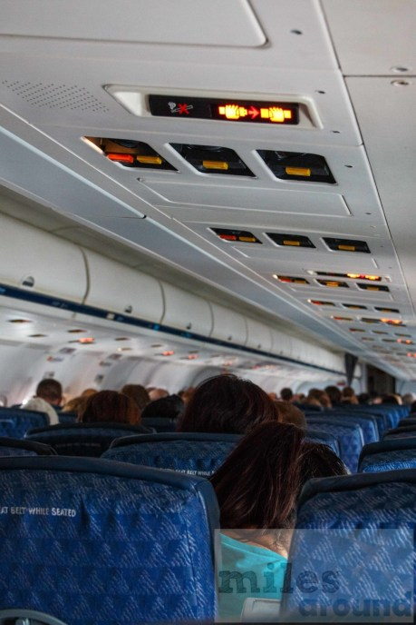 American Airlines MD-82 Cabin