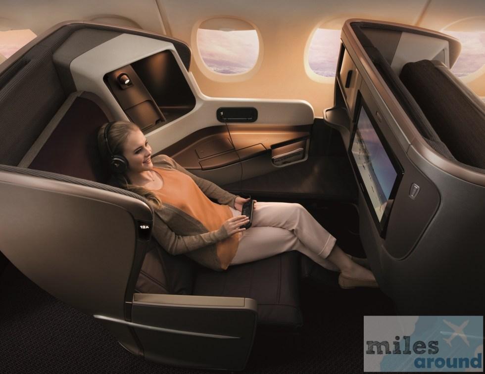 Business Class A350 (Quelle: Singapore Airlines)