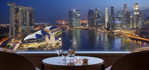 Views of the Marina Bay from the Ritz-Carlton Club (Source: Ritz-Carlton)