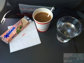 Austrian Airlines Economy Class Snack
