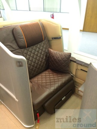 First Class von Singapore Airlines