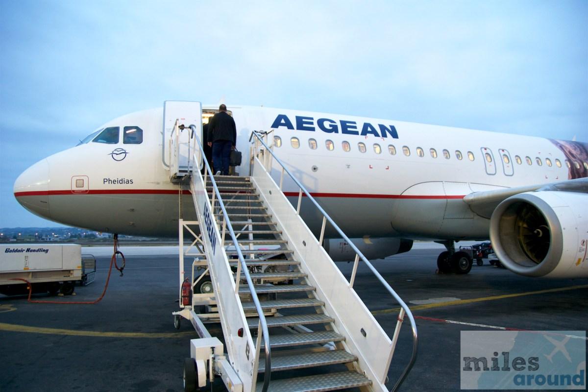 Mileage Run Aegean - Verteidigung des Miles&Bonus Gold Status über Segmente