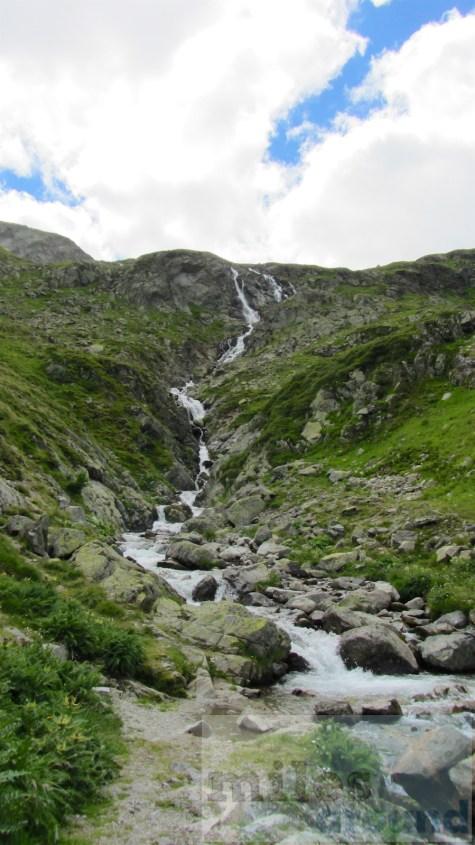 Wasserfall am Flüela Pass