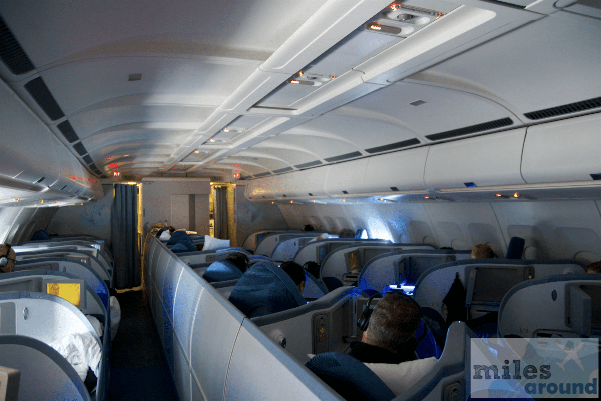 Air Kanada Business Class Airbus A330-300 im nach Toronto