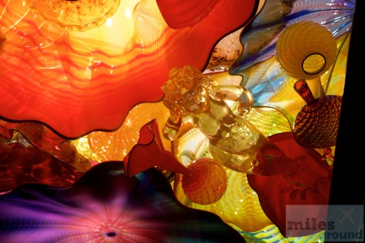 """Persian Ceiling"" im Chihuly Garden and Glas Museum"