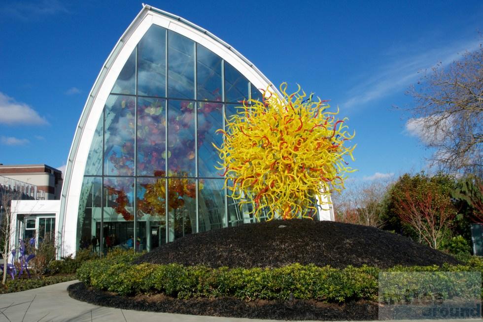 Außenbereich des Chihuly Garden and Glas Museum