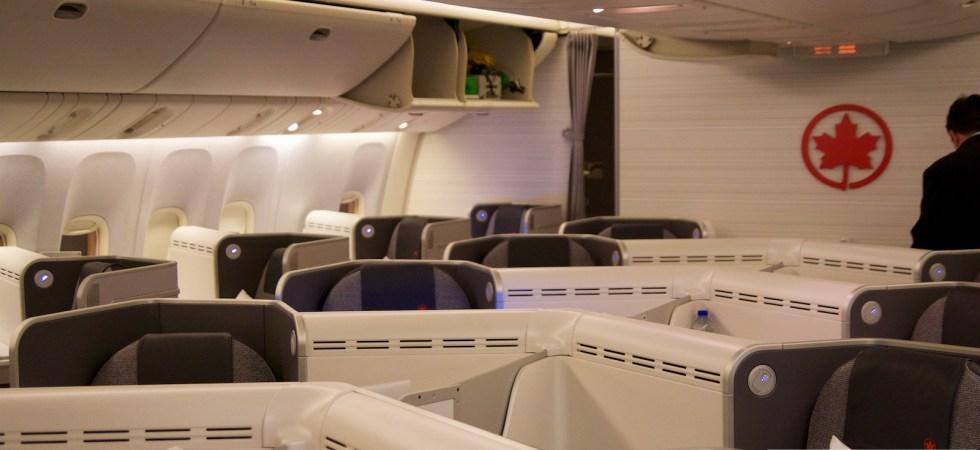 加拿大航空商务舱在德波音777-300ER