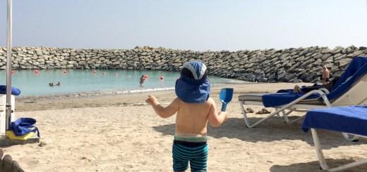 Пляж на берегу Оманского залива