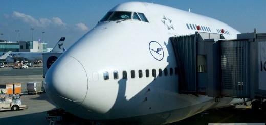 Lufthansa en Classe économique dans le Boeing 747-400