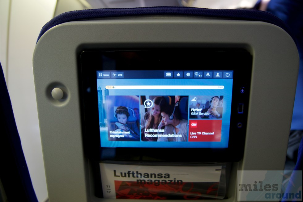 Lufthansa In-flight Entertainment