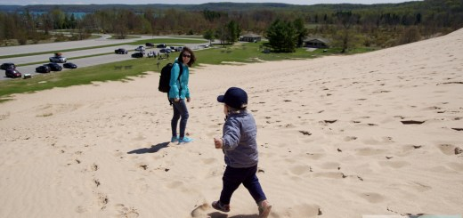 Familienspass in den Sleeping Bear Dunes