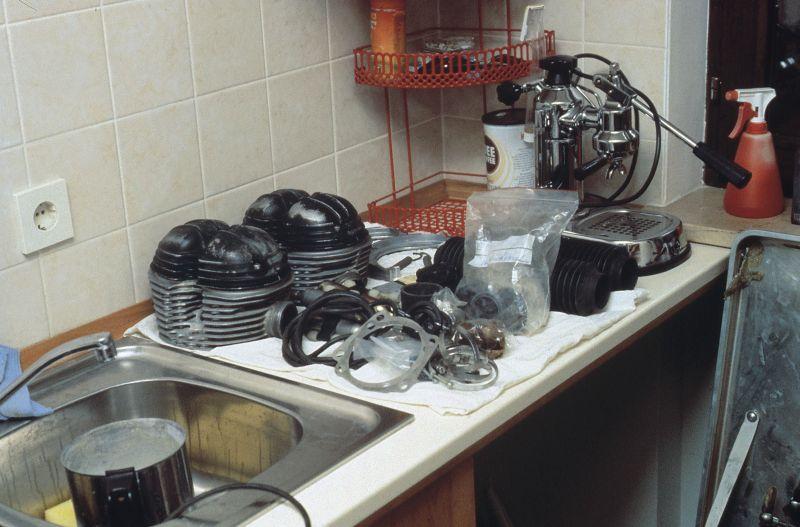 Küche Jutta Kleinschmidt