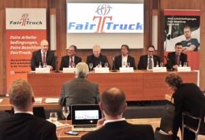 Renommierte Vertreter der Logistik-Branche beteiligen sich an Fair Truck. Das Ziel ist, den Fahrerberuf wieder aufzuwerten.