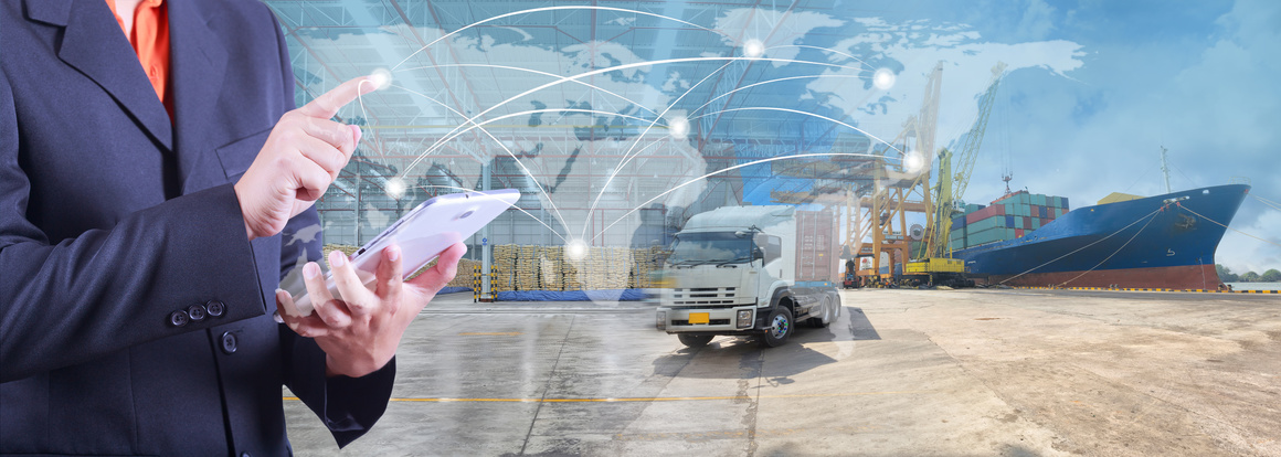 Mit einer zentralen Software könnte der gesamte Transport- und Logistikmarkt koordiniert werden, Fotolia ©kamonrat