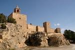 Zicht op het Moorse kasteel