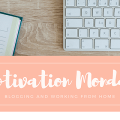 Motivation Monday – Blogging and Working From Home – Chasing Foxes