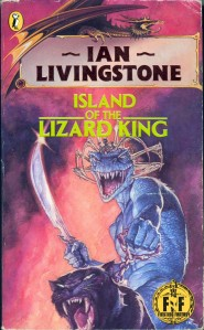 The Lizard King, complete with symbiotic crab-thingy crown and sabre-toothed puma.