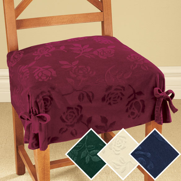 DAMASK DINING CHAIR COVERS Chair Pads Amp Cushions