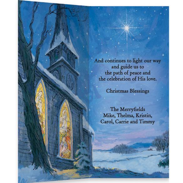 Adolphe Sax RELIGIOUS CHRISTMAS CARDS