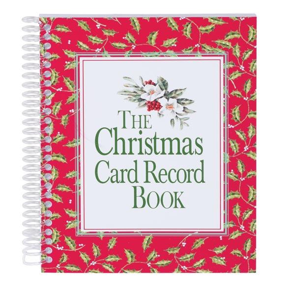 Christmas Card Record Book Christmas Card Book Miles