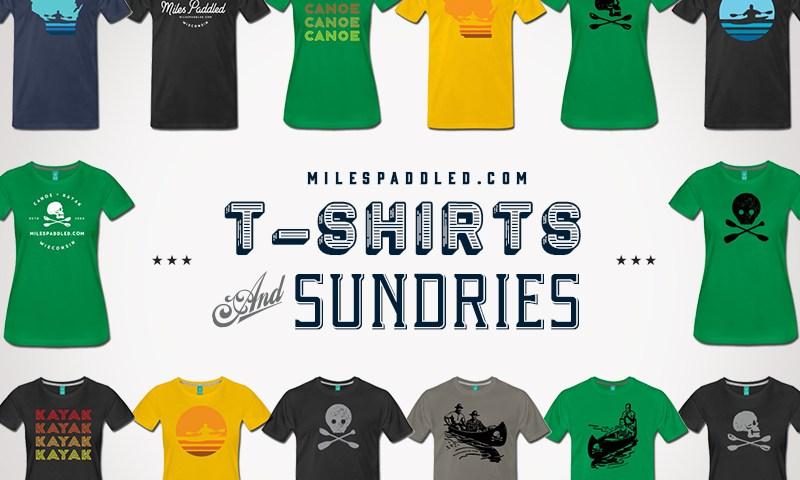 Canoe and Kayak T-Shirt
