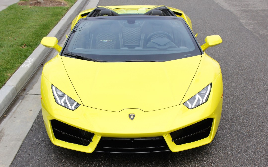 Drop That Top & Let The Lamborghini Huracan LP5780-2 Spyder's V10 Fill Your Eardrums