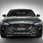Genesis G70 front