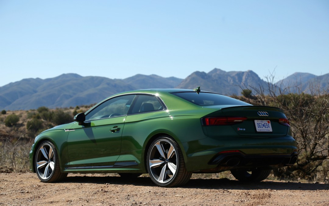 Audi's New RS5 Coupe Is Lean, Mean, and Best in Green