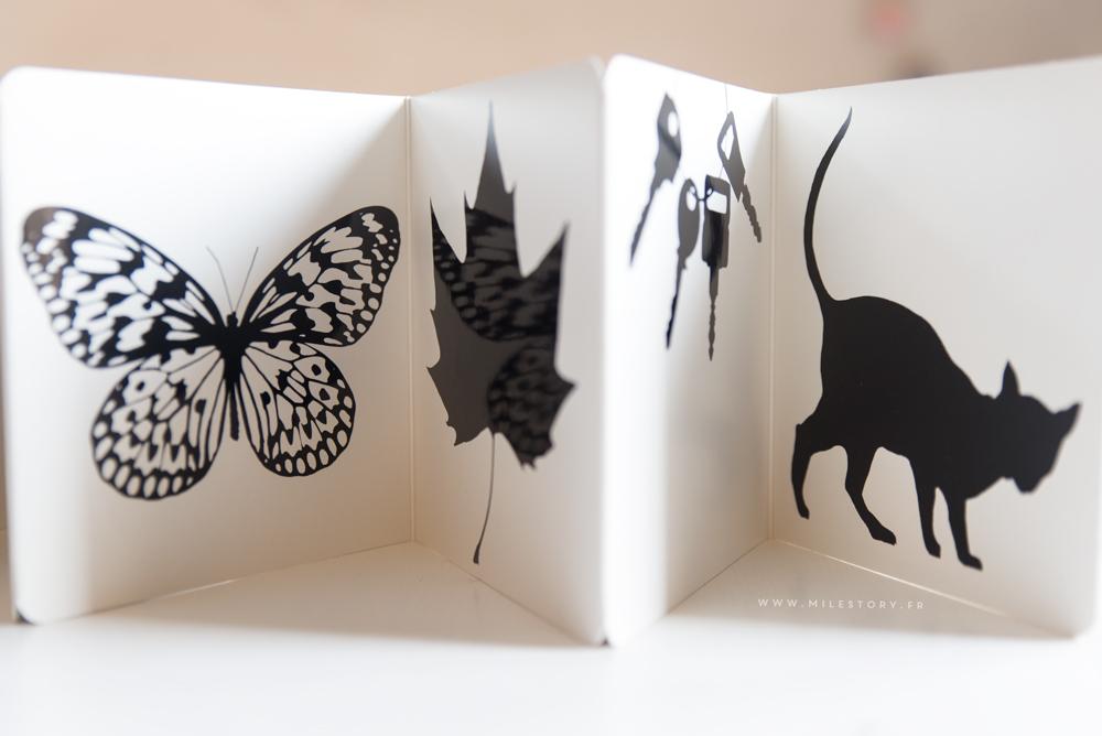tuto livre tissus images contrastees le premier livre pour bebe milestory