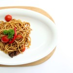 beef rendang curry pasta spagetti medan