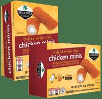 Stuffed Buffalo Style Chicken Minis