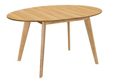 table a manger extensible finition chene l150 200 cm marik