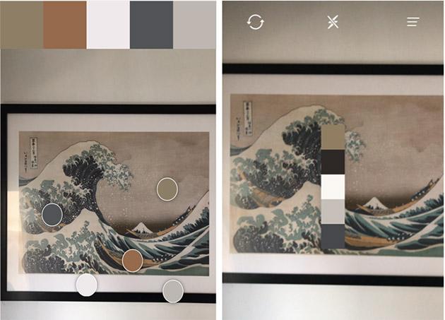 Pantone Connect uygulaması ile oluşturulan renk paleti - Pantone Studio
