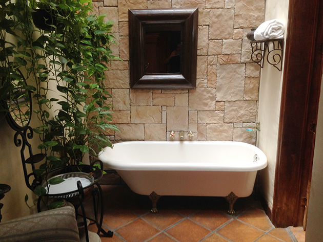 Fayanssız banyolar