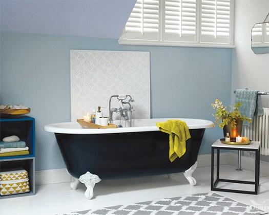 Colores para un baño Feng Shui: Azul