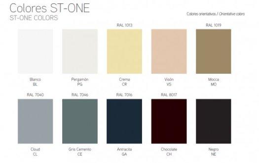 Colores RAL para lavabos de diseño