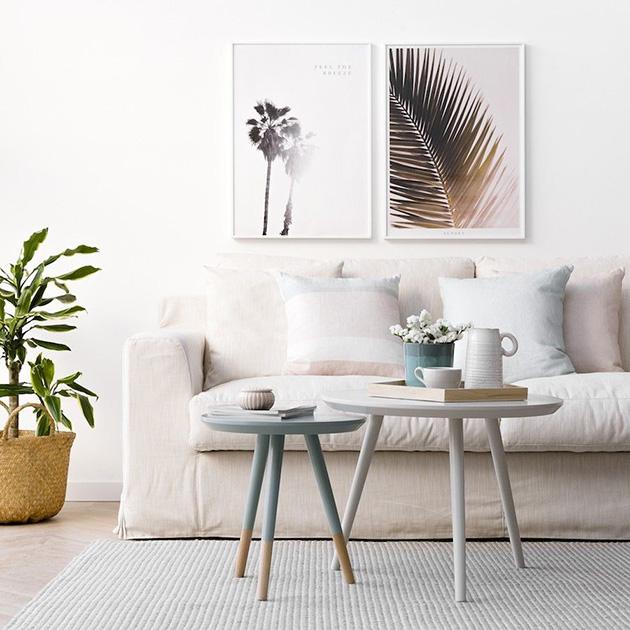 Evi terk etmeden ve ücretsiz olarak dekore etmek için sehpanın dekorasyonunu değiştirin